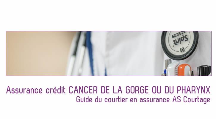 Trouvez votre assurance cr dit cancer de la gorge ou du for Assurer sa maison