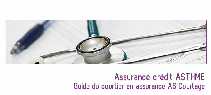 assurance pret immobilier asthme